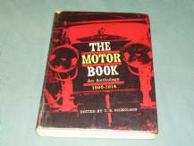 Motor Book 1895-1914. :The . An Anthology (Nicholson 1962) Ex Lib.